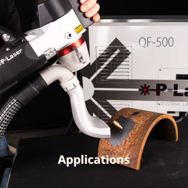 P-Laser laser cleaning applications