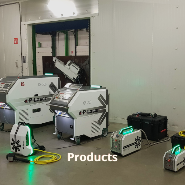 P-Laser laser cleaning products